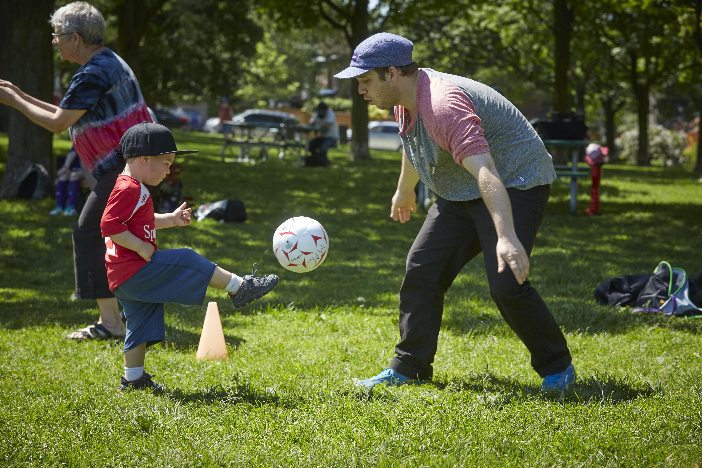 Parent Participation at Sportball