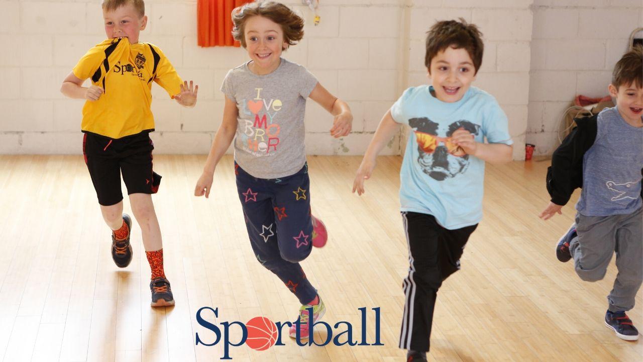 Coaching at Sportball